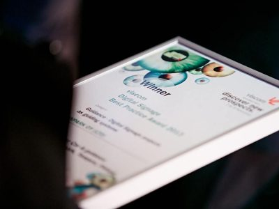 Aus dem Digital Signage Best Practice Award wird der Digital Retail Award (Foto: Viscom)