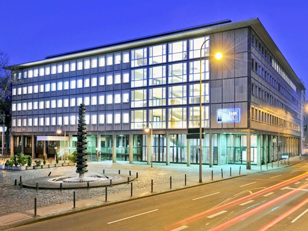 Hauptgebäude der IHK Köln am Börsen-Platz in Köln (Foto: Olaf-Wull Nickel / IHK Köln)