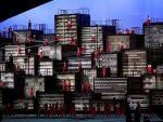 Hunderte von Projektoren sorgen während der Olympiade für die visuelle Inszenierung (Foto: Panasonic UK)