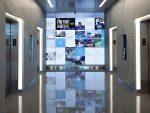 In diesem Aufzug-Flur wartet man gerne ein wenig länger (Foto: Planar)