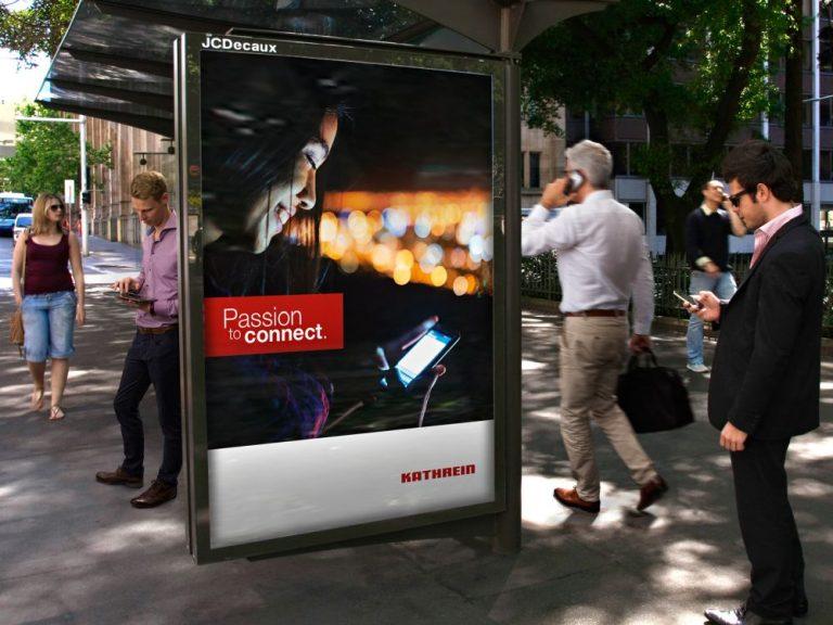 JCDecaux nutzt jetzt gemeinsam mit Kathrein entwickelte Smart Cell Technologie (Foto: Kathrein)