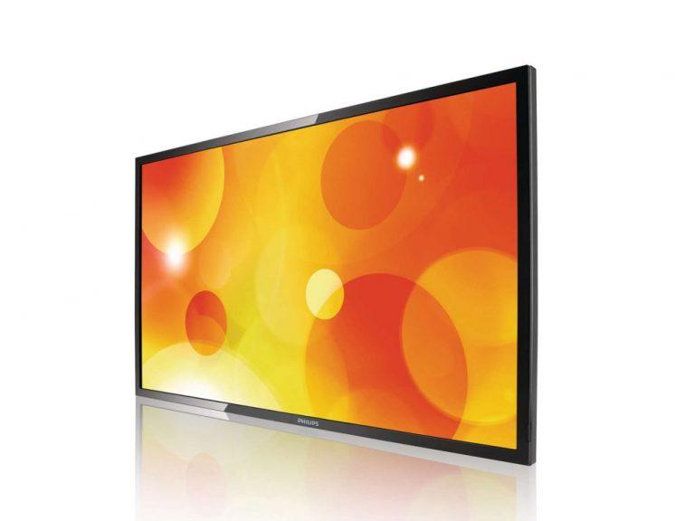 LFD von Philips Professional Display Solutions aus der Serie Q (Foto: Siewert & Kau)