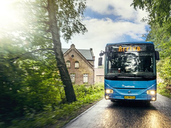 Arriva Bus im Einsatz (Foto: Arriva)