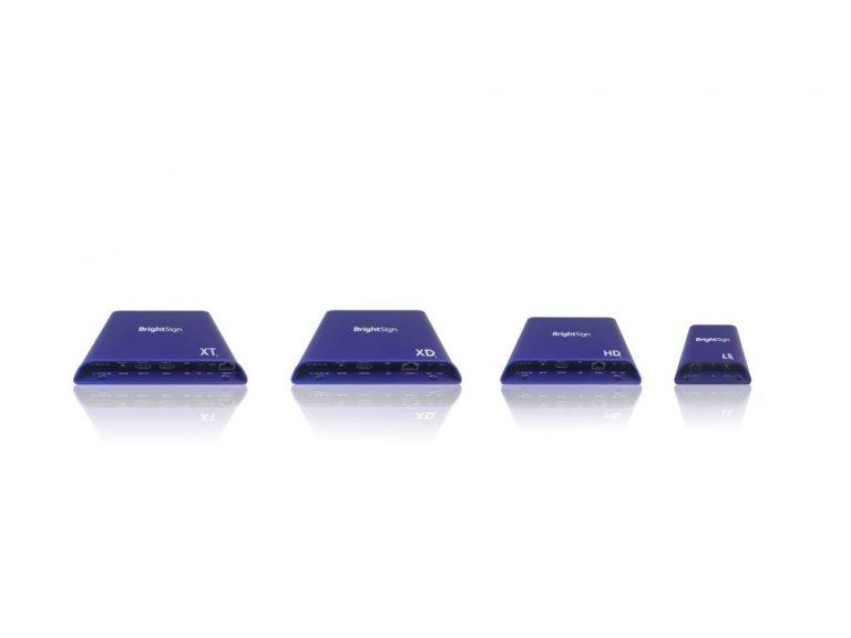 BrightSign unterteilt seine Mediaplayer in vier Baureihen mit insgesamt sieben Modellen (Foto: BrightSign)
