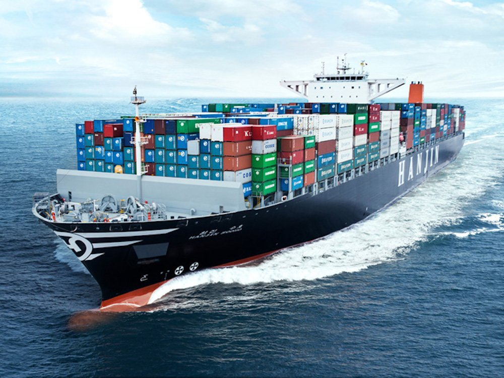 Containerschiff der Reederei Hanjin Shipping - Symbolbild (Foto: Hanjin Shipping)