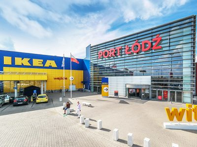 Einkaufszentrum Port Łódź (Foto: Sensorberg)