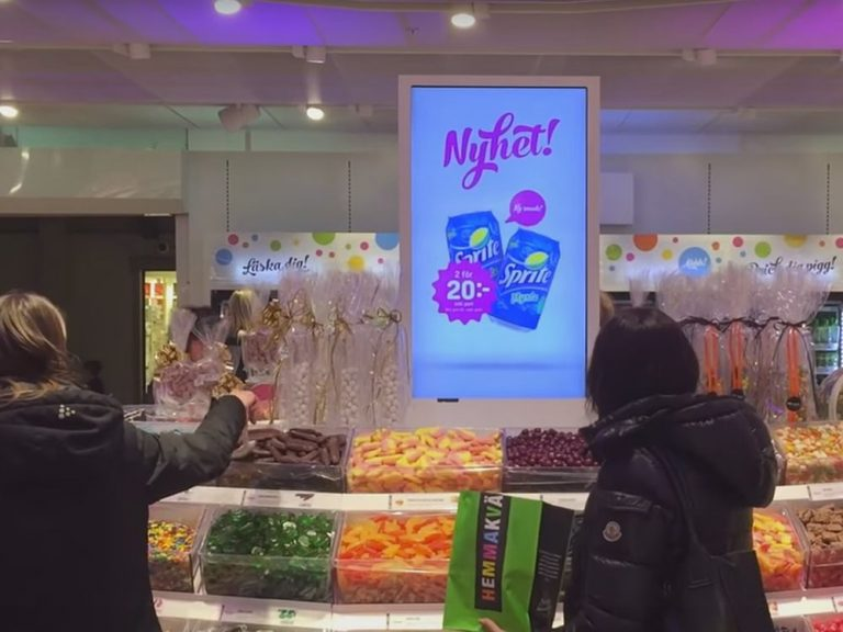 Swedish retailer Hemmakvall (Screenshot: invidis)