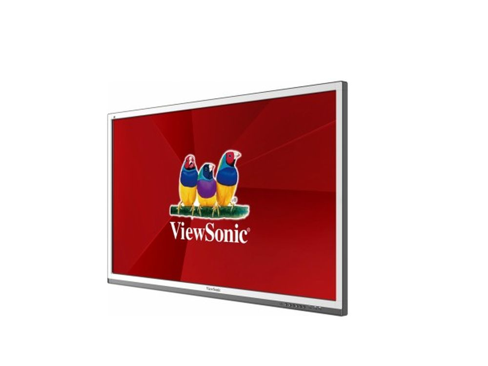 Interaktiver 20 Punkt Multitouch-Screen CDE6561T (Foto: ViewSonic)