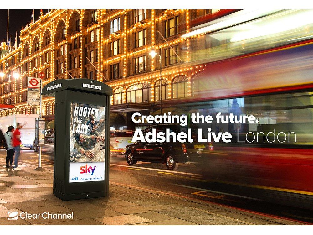 Clear Channel modernisiert Londons Telefonzellen (Foto: ClearChannel)