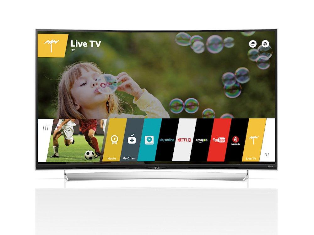 Aktueller Smart TV von LG unter webOS (Foto: LG)