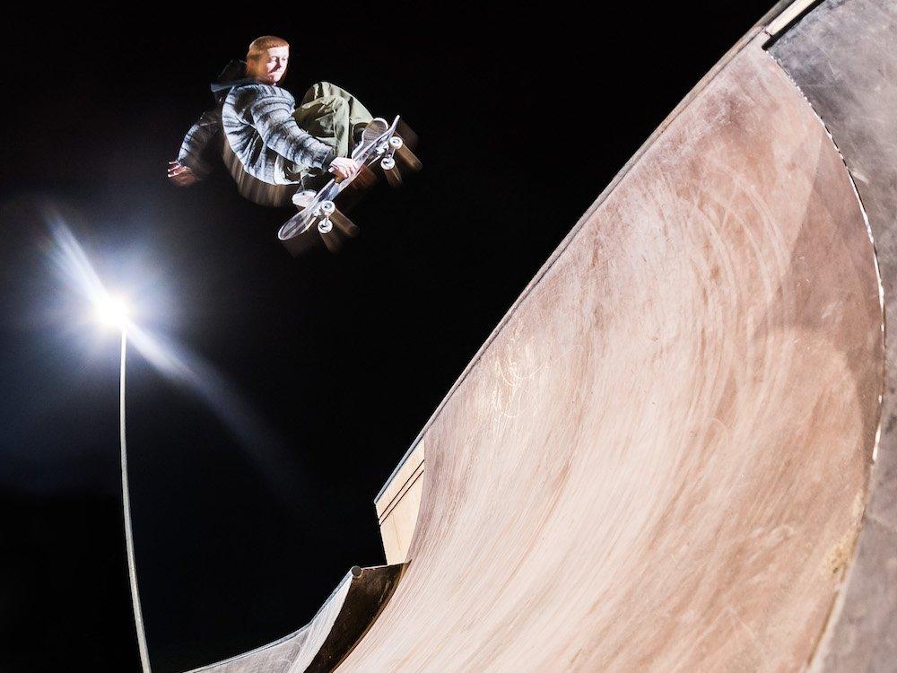Auch die Bedürfnisse von Smartphone-filmenden Skatern und Werbefilmern werden durch Hochtechnologie gedeckt (Foto: Osram)