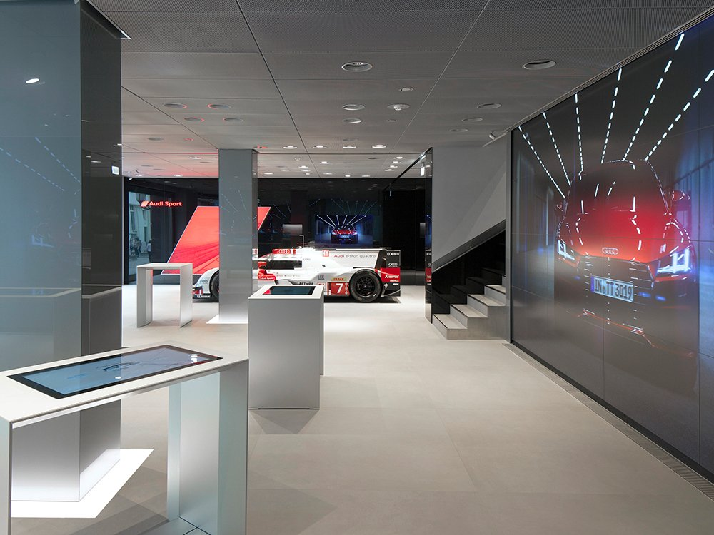 Audi City Moscow (Image: AUDI AG)