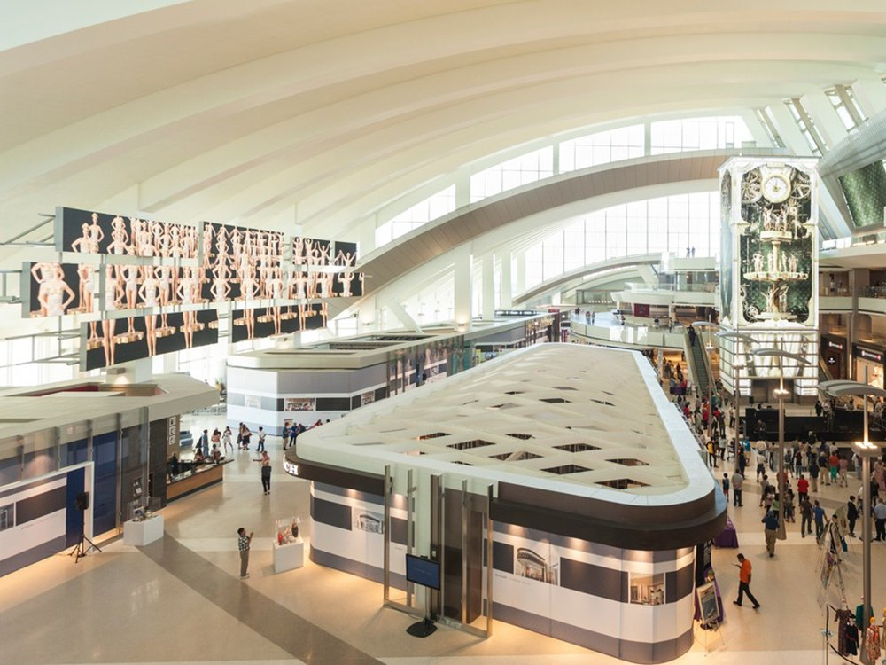Los Angeles International Airport (Image: Moment Factory)
