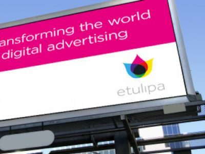Electrowetting Screen als digitales Billboard (Foto: Etulipa)