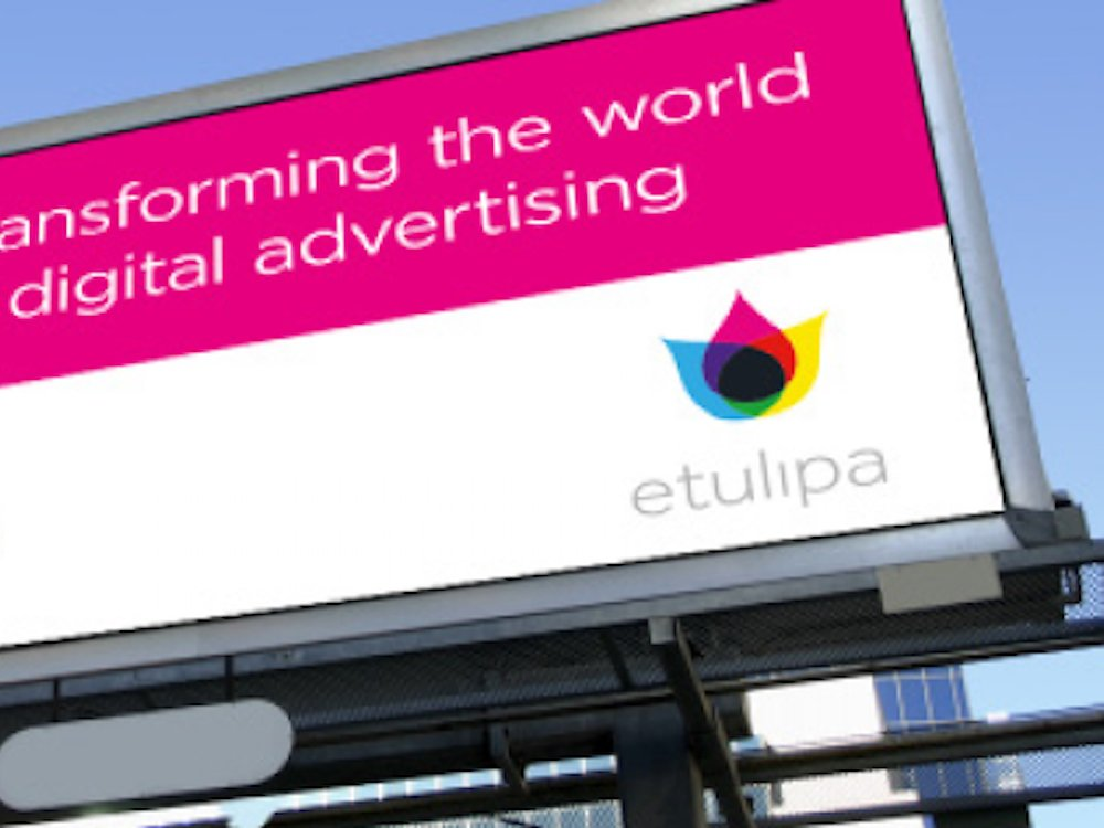 Electrowetting Screen als digitales Billboard (Foto: Etulipa)