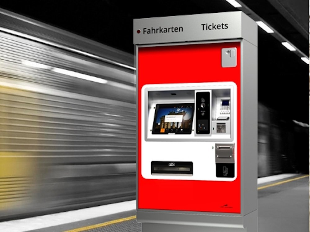Fahrkartenautomat Metric Station (Foto: Metric Mobility Solutions AG)