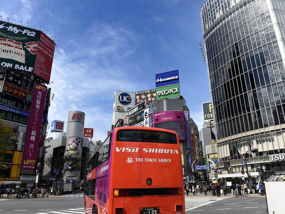 Gehört zur Flotte des Busbetreibers Tokyu Bus Corporation - der Visit Shibuya Bus (Foto: Tokyu Bus Corporation)