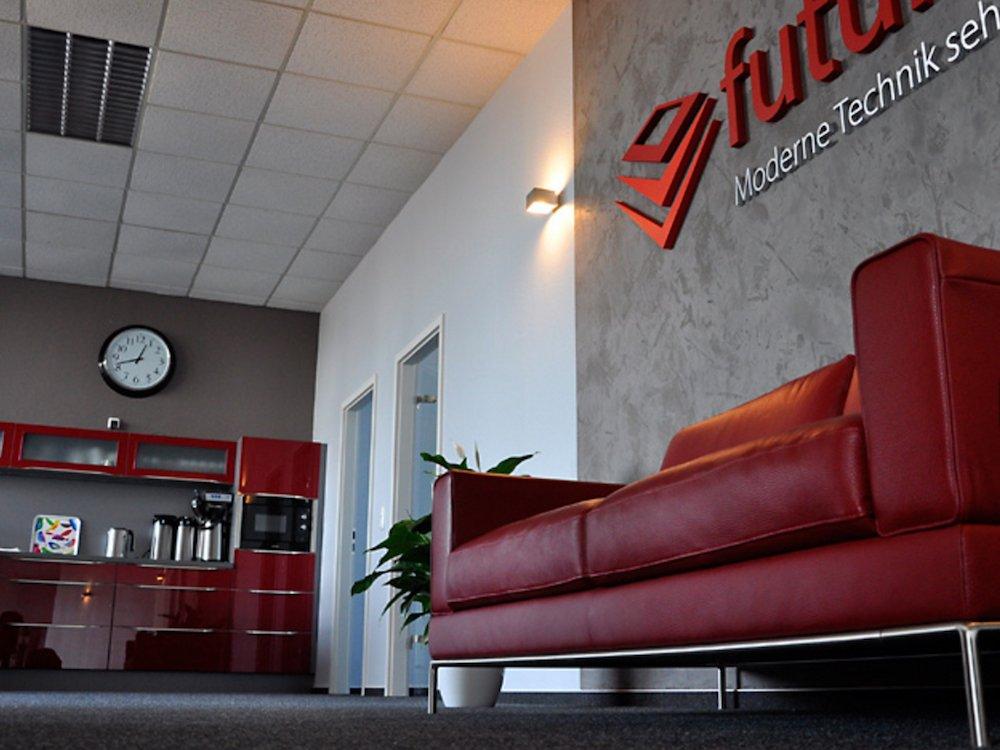 In der Futurebox - hier der Lounge Bereich - findet die Veransatltung statt (Foto: pilot Computerhandels GmbH)