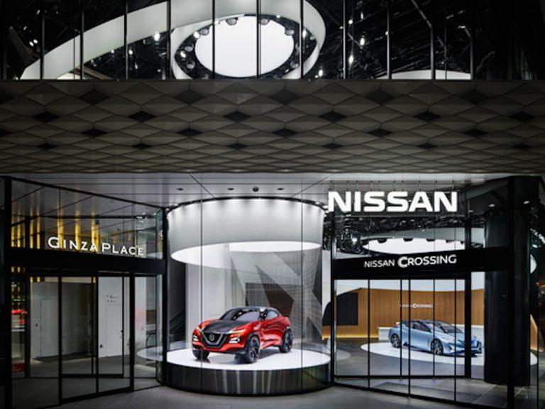 Neuer Marken-Flagship Nissan Crossing in Tokio (Foto: Nissan)