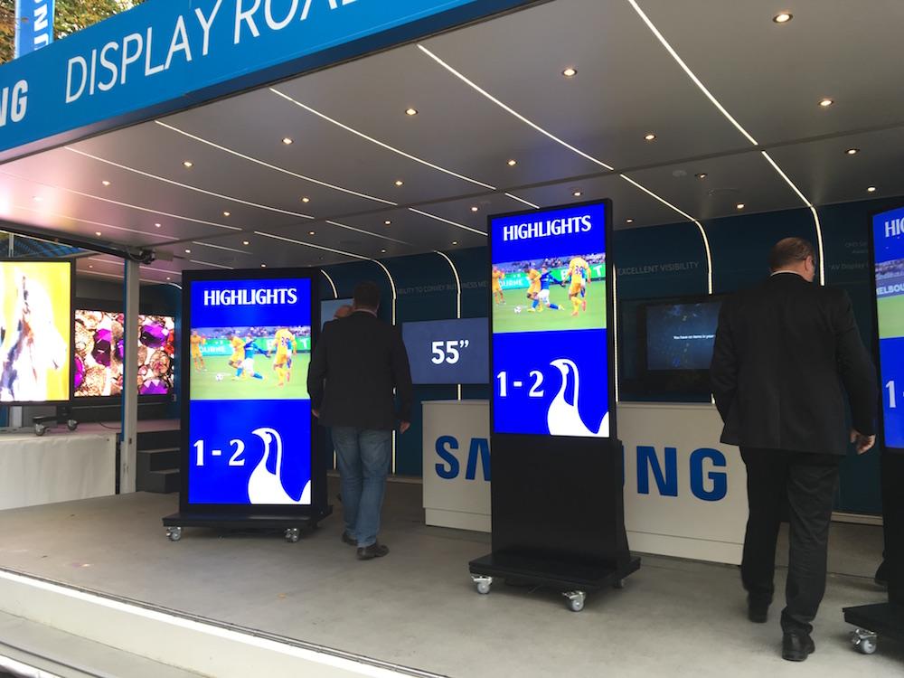 Outdoor Screens von Samsung - Workshop gemeinsam mit ALSO / Symbolbild (Foto: invidis)
