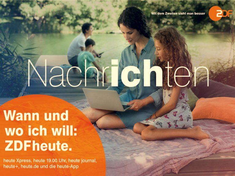 Plakatmotiv der neuen ZDF heute Kampagne (Foto/ Grafik: ZDF)