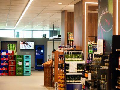 Getränkemarkt der Zukunft (Foto: Online Software AG)