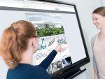 Sowohl Besprechnugsräume wie Aufenthaltsräume wurden mit interaktiver Technologie ausgerüstet (Foto: Sharp)