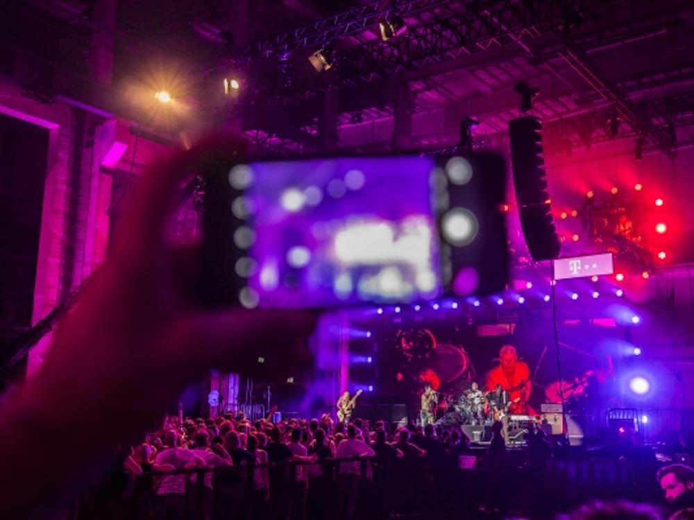 Telekom Street Gig mit den Peppers war zugliech eine 360 Grad 4K Live Stream-Premiere (Foto: Deutsche Telekom)