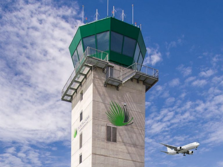 Tower des Airport PUJ in der Dominikanischen Republik (Foto: Punta Cana International Airport)