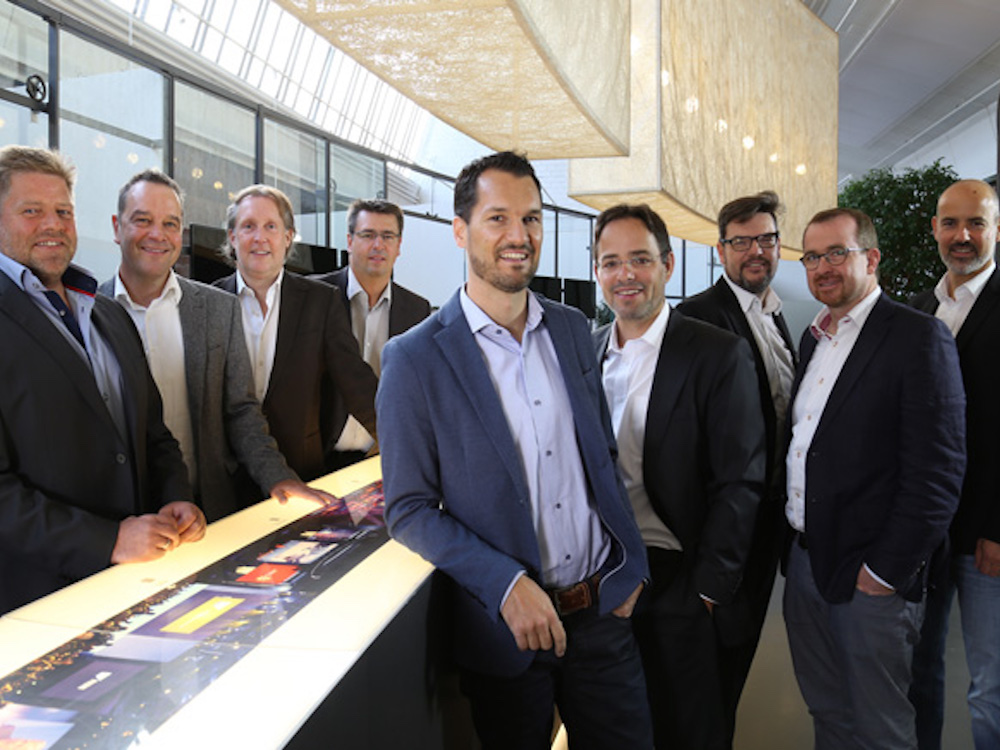 Firmenleitung der Habegger Group (Foto: Habegger)