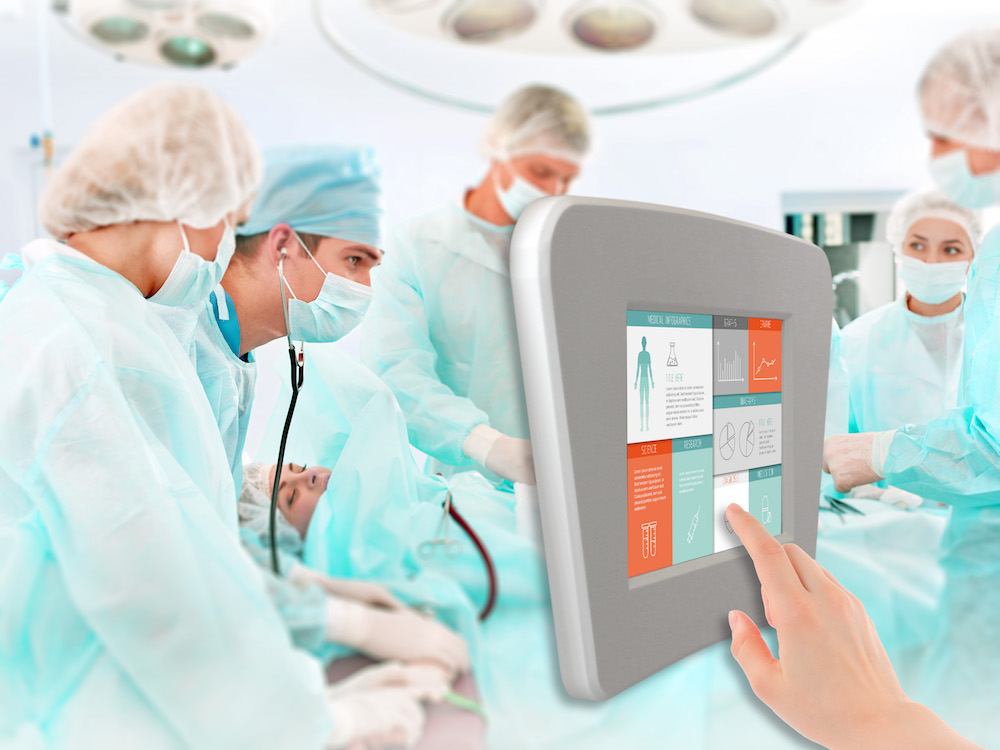 Force Touch Screen - neben Medical werden weitere Verticals angepeilt (Foto: DATA MODUL)