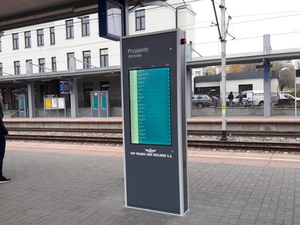 High Brightness Stelen an dem polnischen Bahnhof (Foto: Dysten)