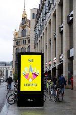 Neben Werbungtreibenden wirbt auch die Kommune für sich und ihre Einrichtungen (Foto: JCDecaux)