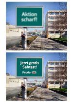 Platz 3 - Aktion Scharf (Foto: Gewista)