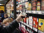 Supermarkt an der Bushalte - temporärer Jumbo Shop in Utrecht (Foto: Jumbo)