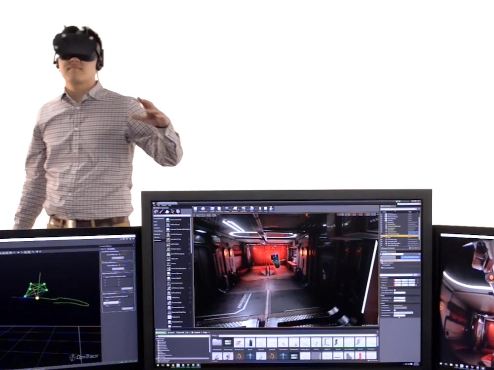 VR wird bei Planar bald wohl eine bedeutendere Rolle spielen (Foto: NaturalPoint)