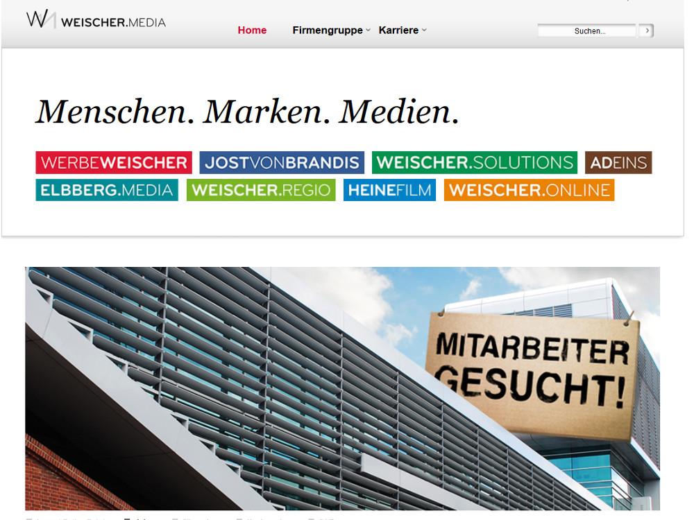 Weischer Media (invidis Screenshot)