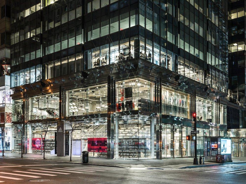 Blick auf den neuen Adidas Flagship in New York (Foto: Adidas)