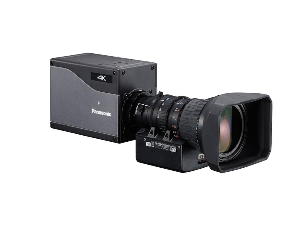 Die IP basierte Boxkamera AK-UB300 arbeitet nun mit der NewTek Software zusammen (Foto: Panasonic)