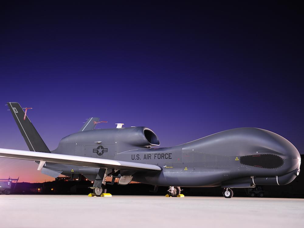 Drohne Gobal Hawk - Waffenhersteller Northrop Grumman wohl einer der Aixtron-Kunden (Foto: Norhtrop Grumman)