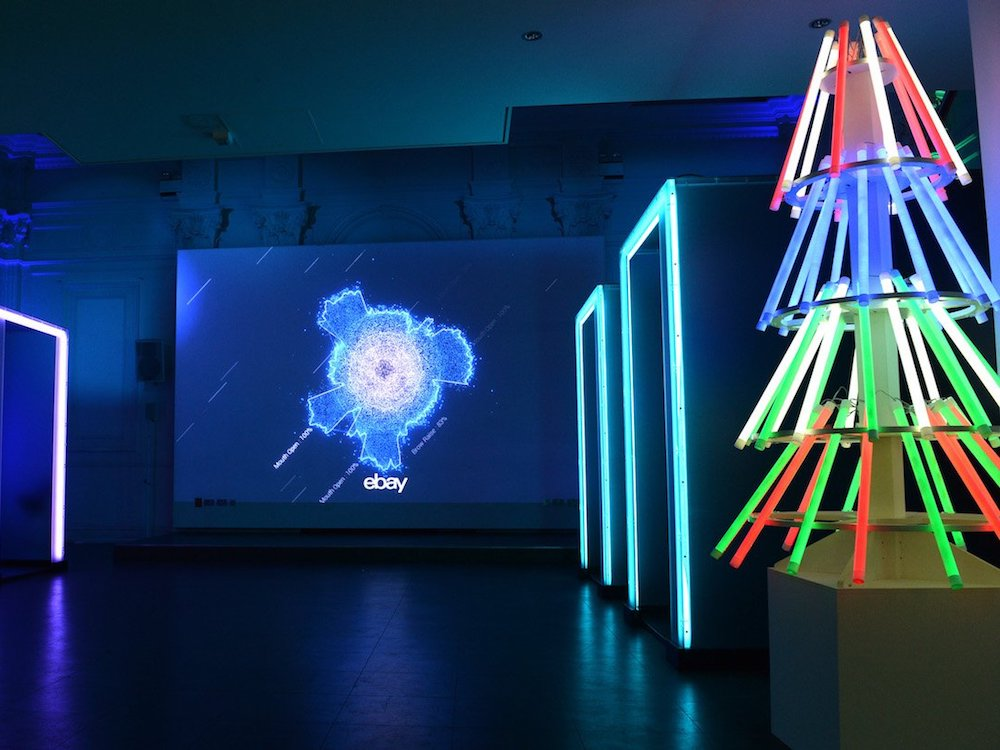In vier Kabinen waren die Interactive Screens installiert (Foto: ebay)