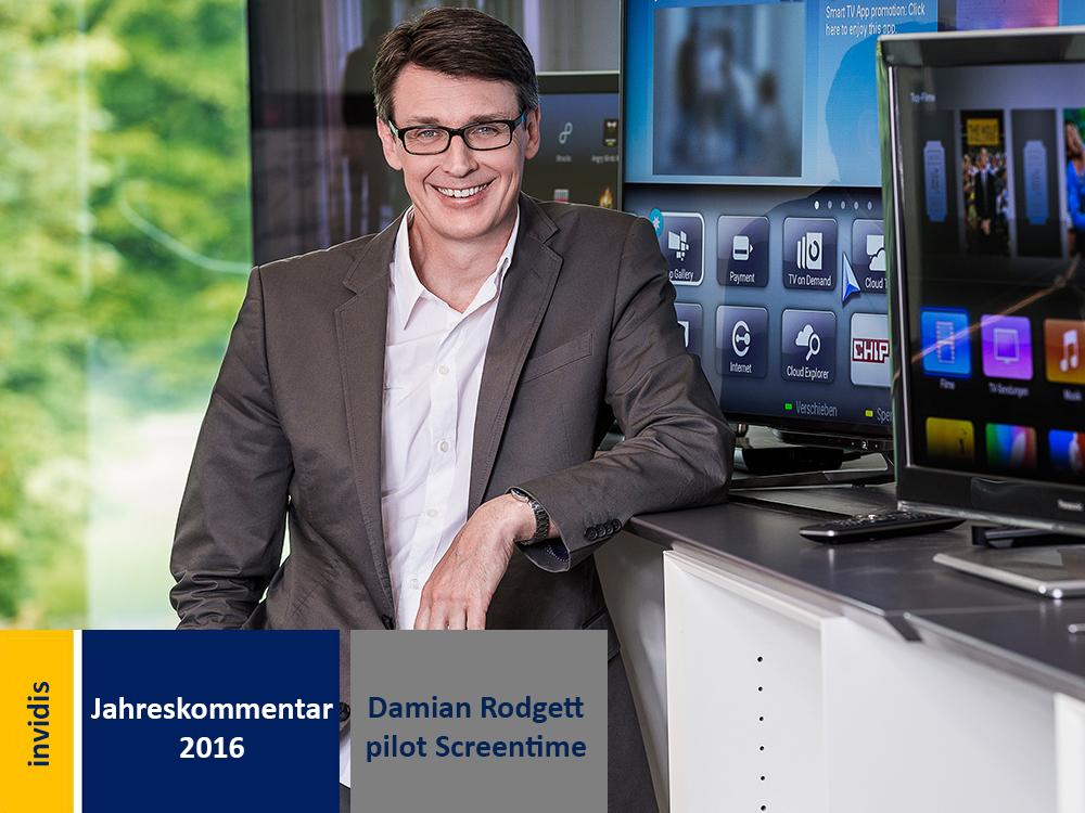 Digital Signage-Jahreskommentar: Damian Rodgett (Bild: pilot Screentime)