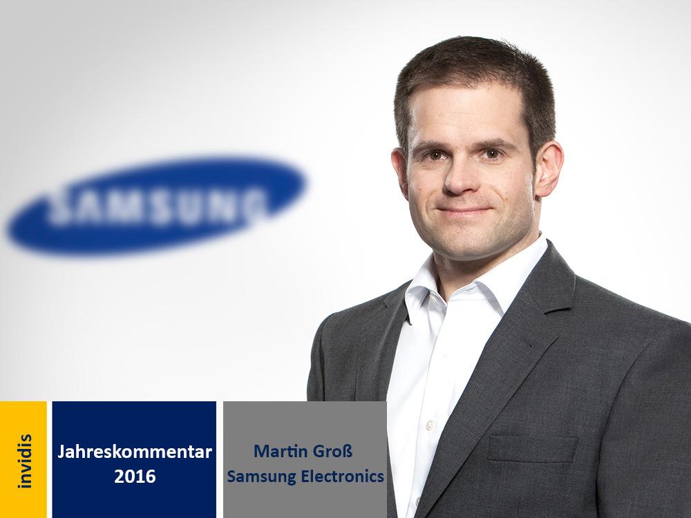 Digital Signage-Jahreskommentar 2016: Martin Groß (Bild: Samsung)