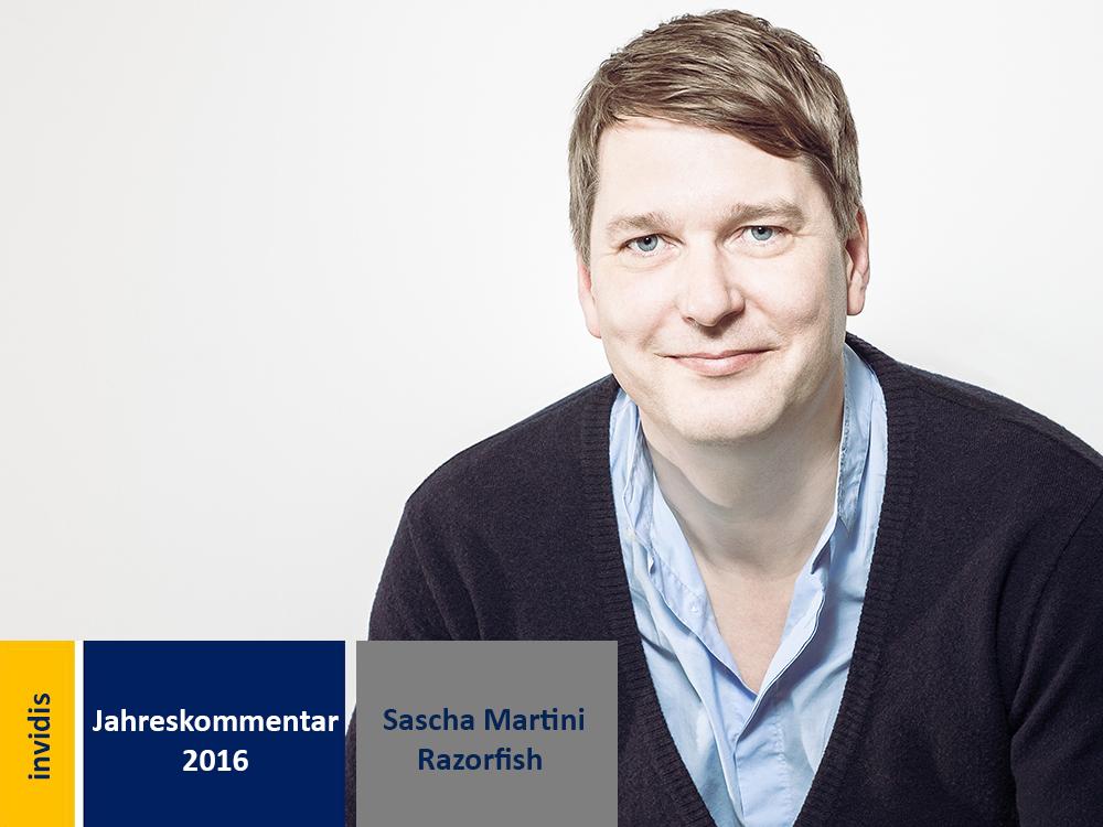 Digital Signage-Jahreskommentar: Sascha Martini (Bild: Razorfish)