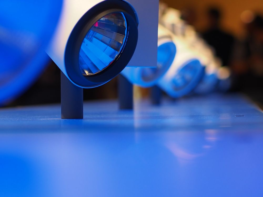 Leuchtmittel auf der letzten EuroShop im Jahr 2014 (Foto: invidis)