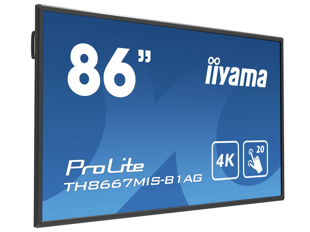 Neuer IR Multitouch - TH8667MIS-B1AG (Foto: iiyama)