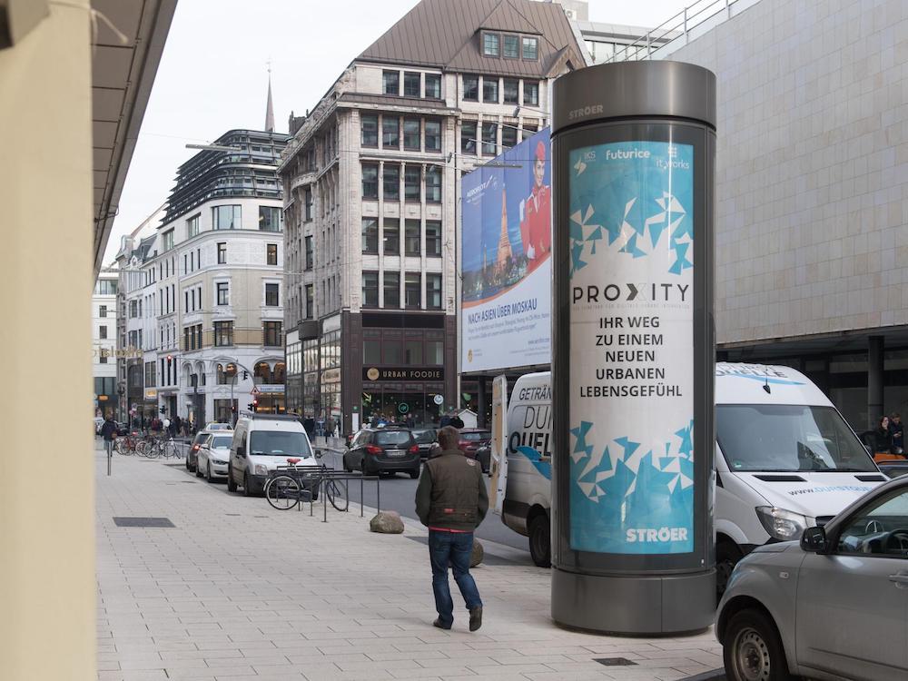 PROXITY widmet sich allen Facetten der Digitalisierung (Foto: Ströer)