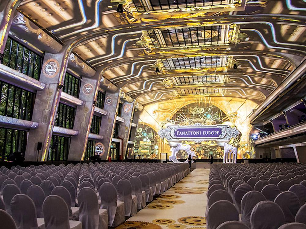 Probe vor dem Start der zweitägigen Gala (Foto: d3 Technologies)