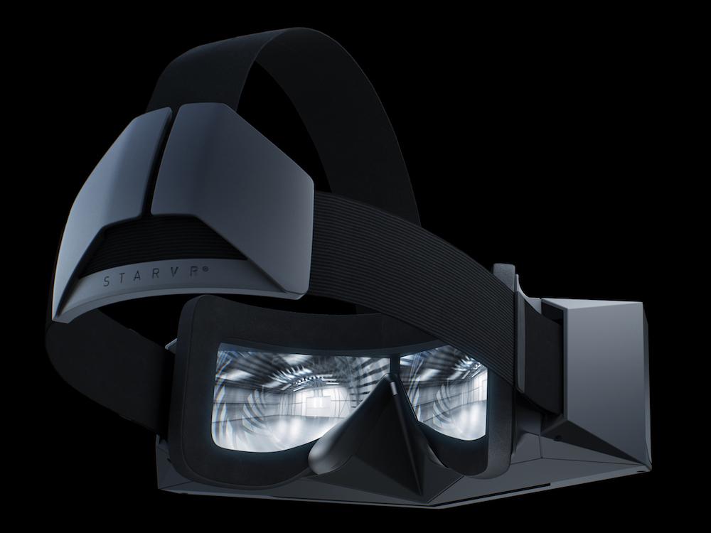 Starbreeze VR System von Acer - Blick durch eine Star VR Brille (Foto: Acer)