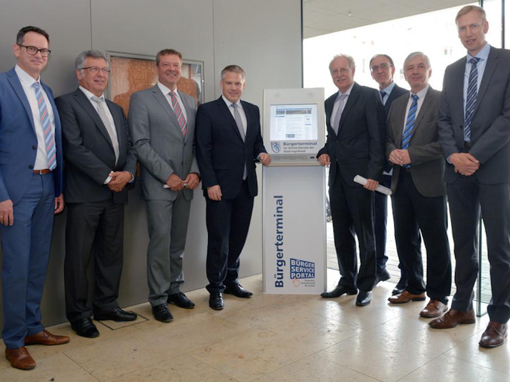 Startschuss für das erste Bürgerterminal (Foto: Stadt Ingolstadt)